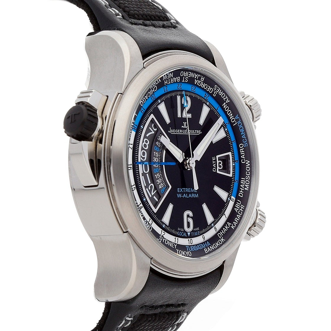Jaeger-LeCoultre Master Compressor Extreme World Alarm Tides of Time: Big Name, Big Watch