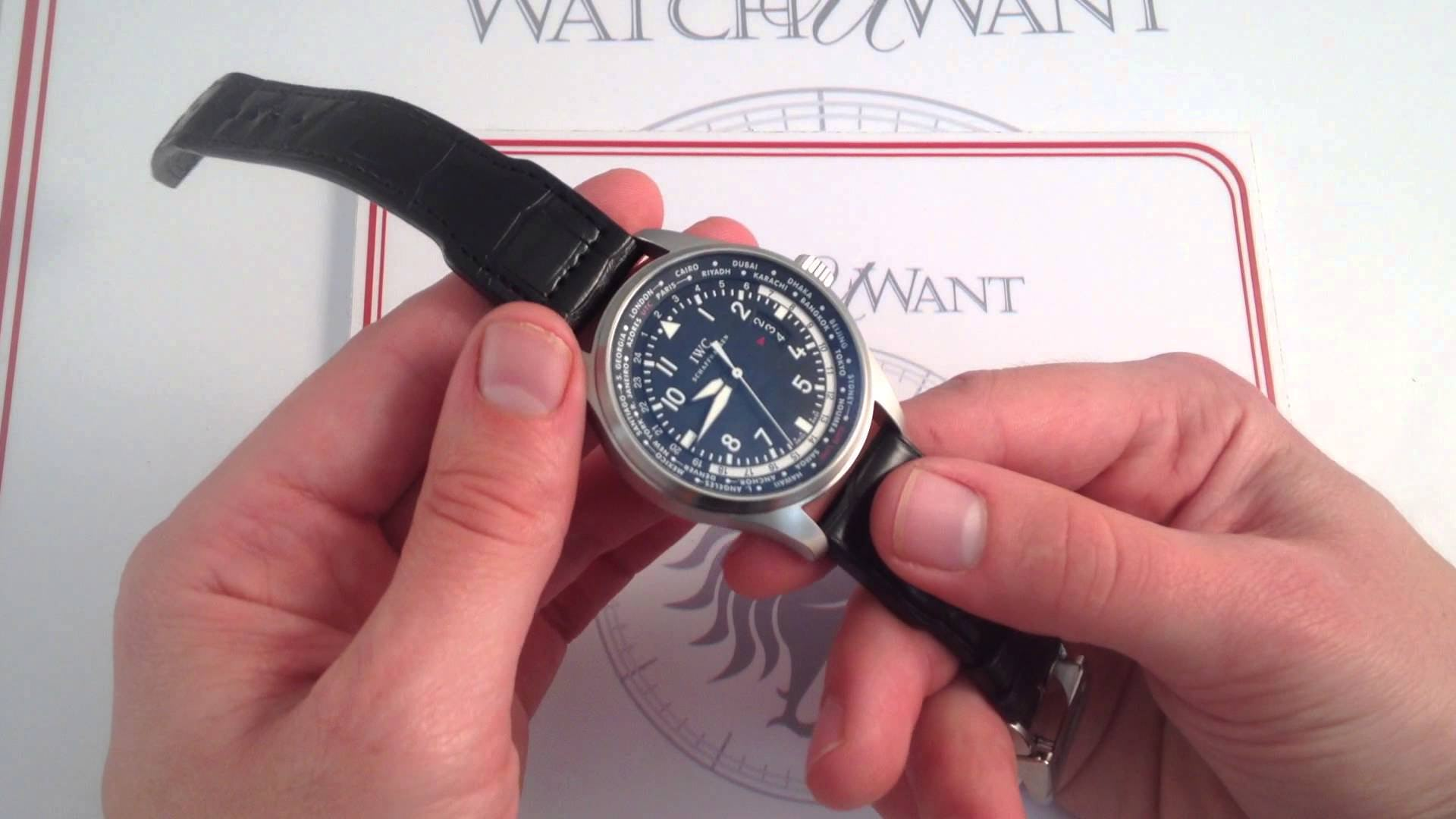 IWC Pilot's Watch Worldtimer 3262-01: All the Time in The World…