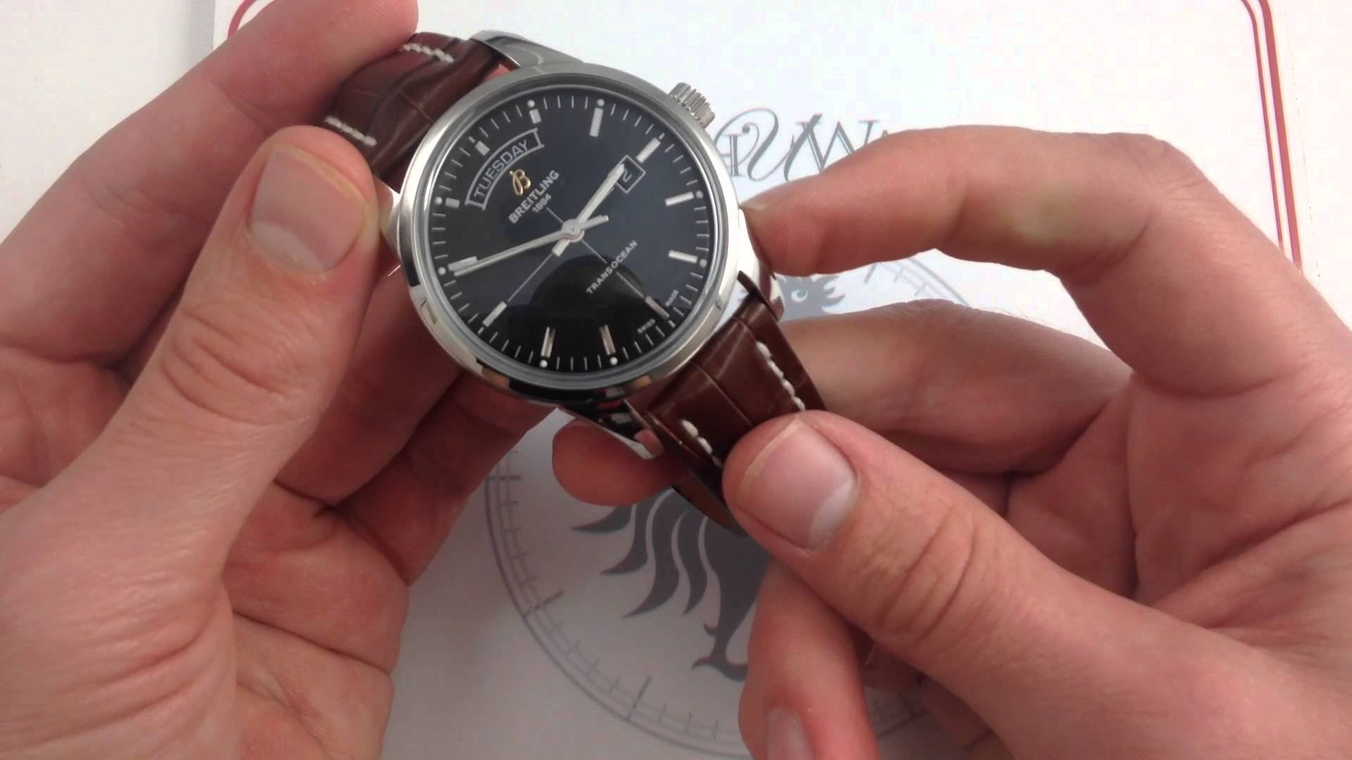 Breitling Transocean Day & Date: Futurama, 50s-Style