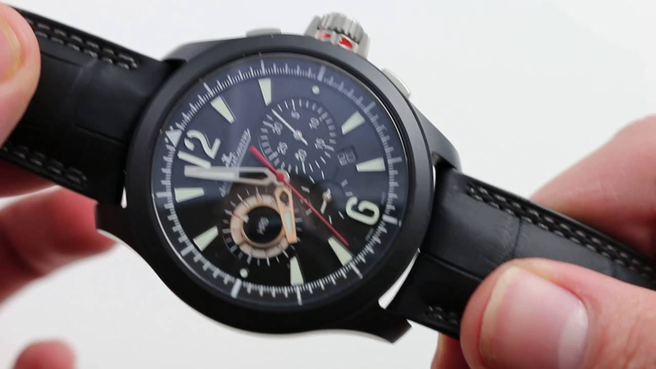 Jaeger-LeCoultre Master Compressor Chrongraph: (Very) Cool Under Pressure