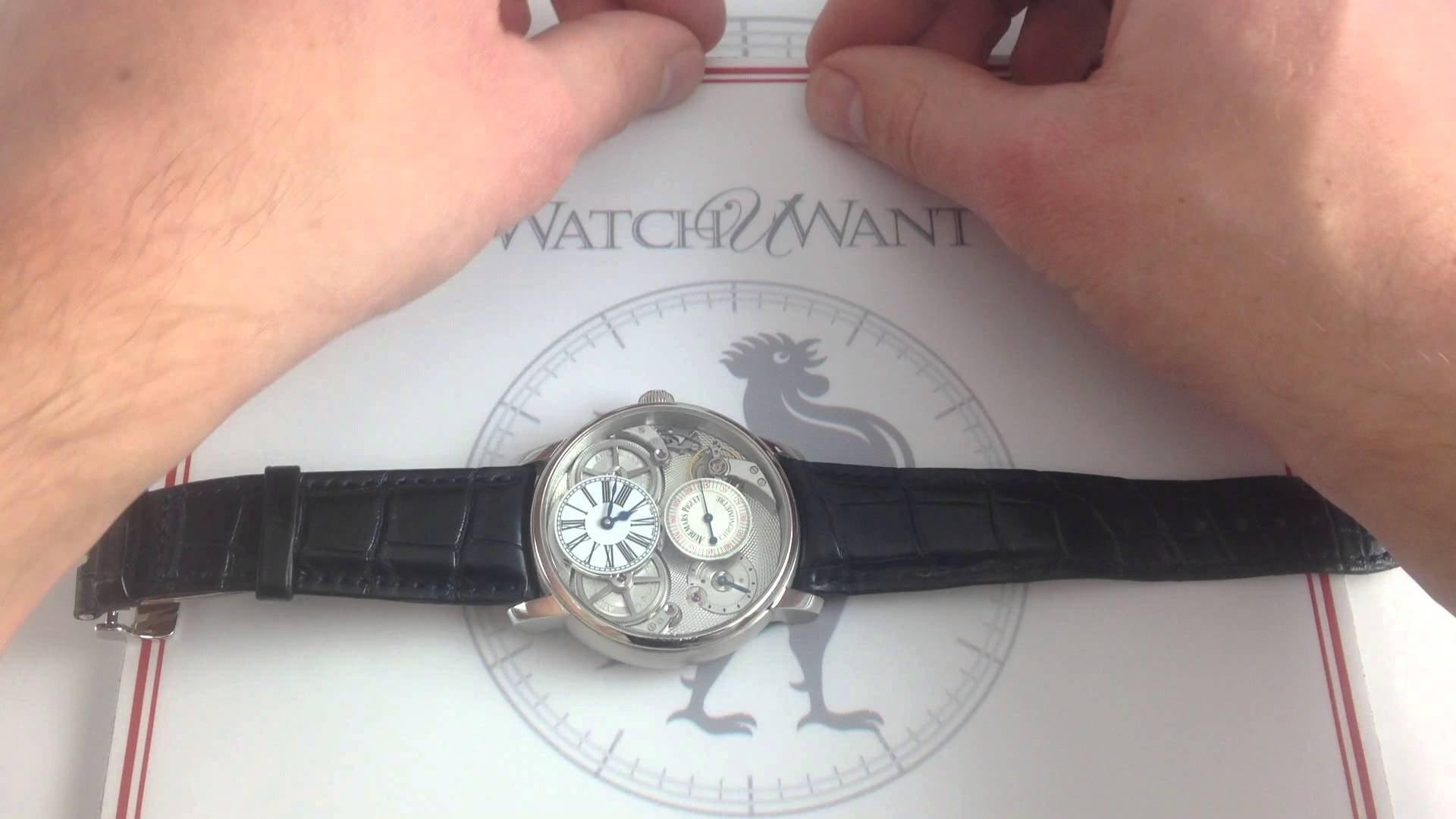 """Audemars Piguet Jules Audemars Chronometer With AP Escapement: """"Big Time"""" Revolution"""