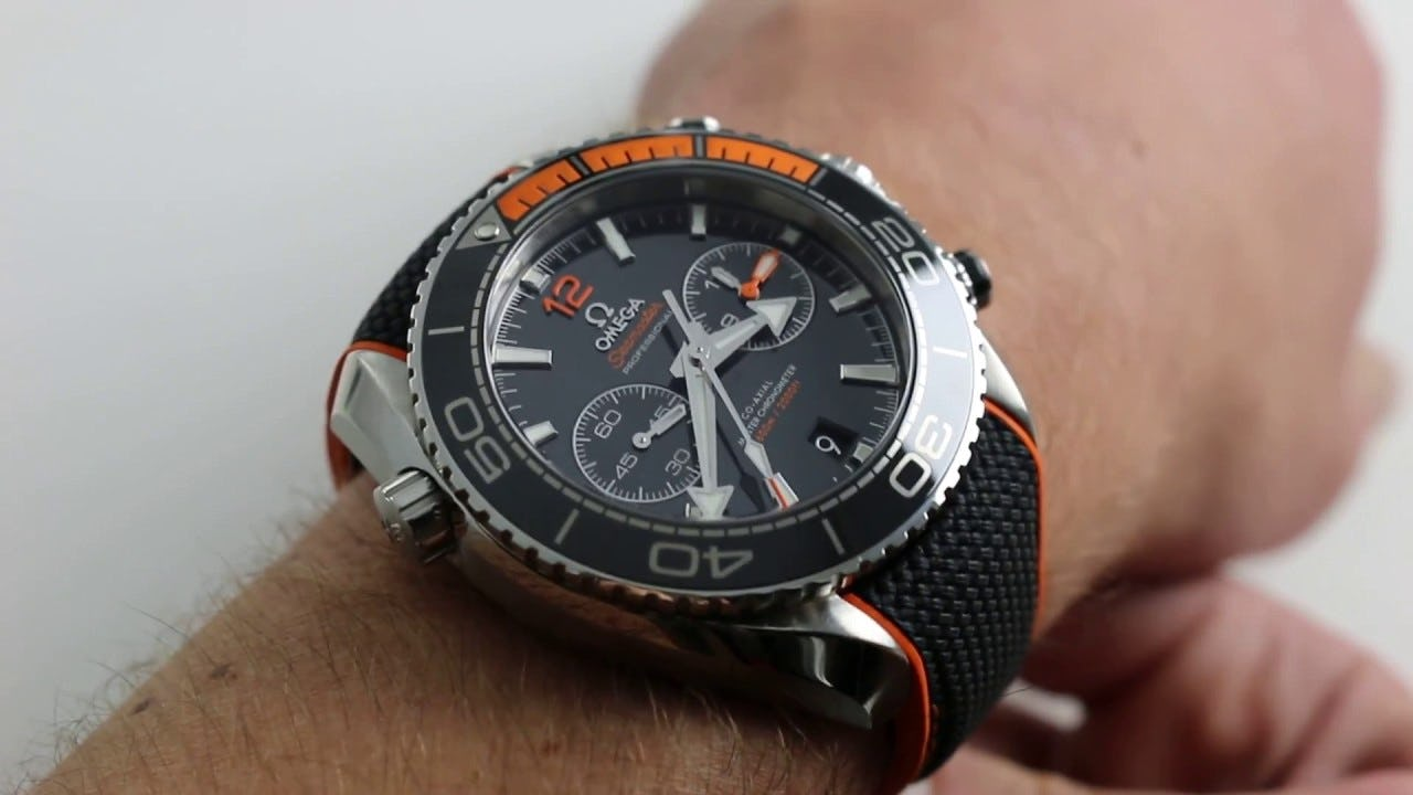 Omega Seamaster Planet Ocean 600M Co-Axial Chronograph: 45.5mm of Rolex Antidote