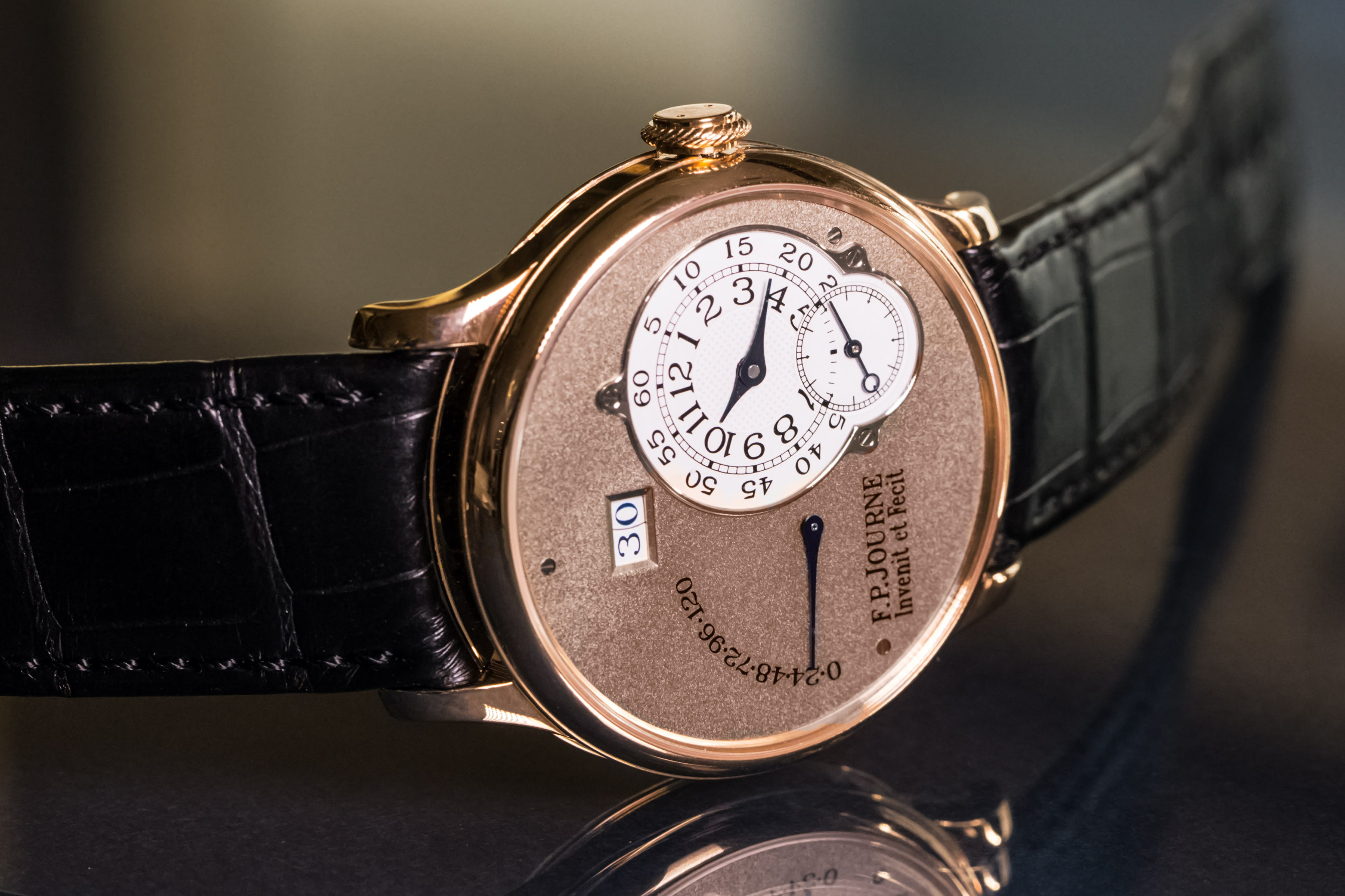 F.P. Journe Octa Reserve de Marche With Brass Movement: In The Beginning…