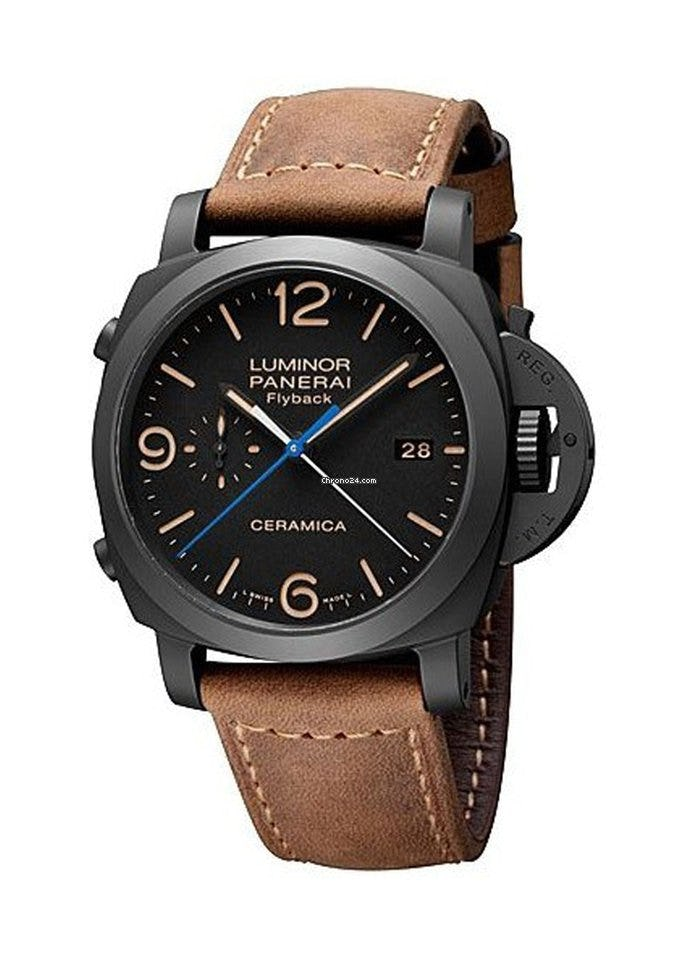 Understanding (and loving) the PAM 580 Panerai Luminor 1950 3-Days Chrono Flyback Automatic Ceramica
