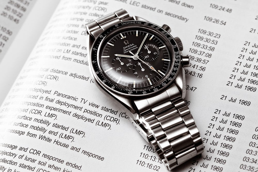 Remembering The First Omega Speedmaster