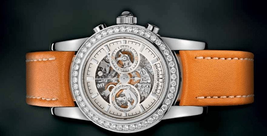 Mission of Mermaids: Girard-Perregaux's Redesigned Hawk Helps Save the Oceans.