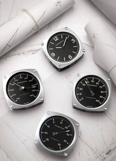 Deck Dials: Panerai Created Precision Instruments For The Seafarer Within