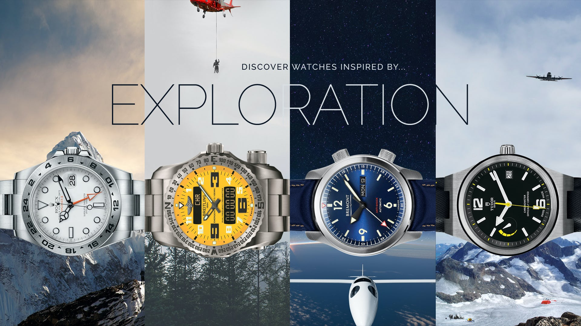 Watches Inspired by Exploration