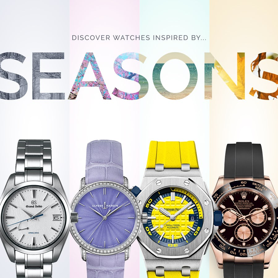 Watches Inspired by the Seasons
