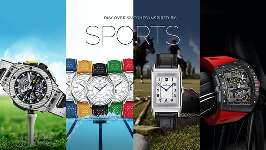 Watches Inspired by Sports