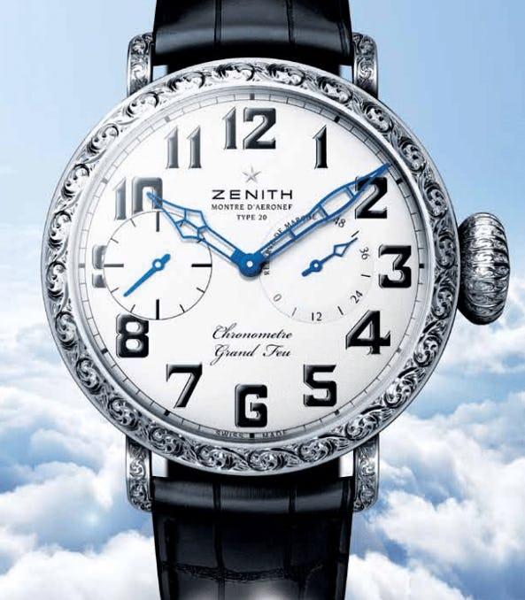 Just Your Type: Zenith's Pilot Timepieces Continue Saga Of Skies
