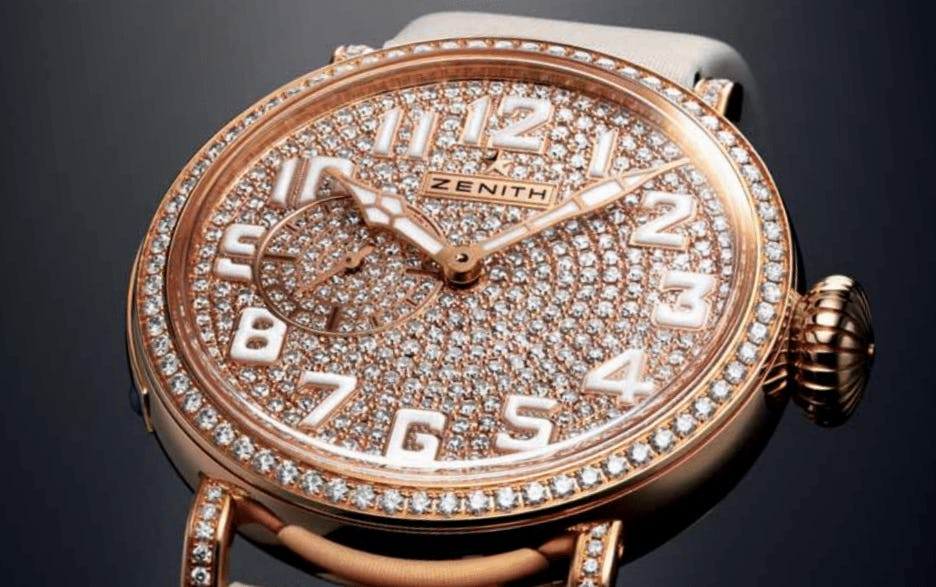 """Soaring To New Heights With The Zenith Pilot Montre d'Aéronef Type 20 """"40 mm Lady."""""""