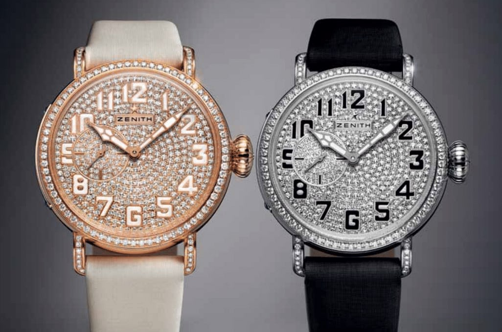 """Soaring with the new Zenith Pilot Montre d'Aéronef Type 20 """"40 mm Lady."""""""