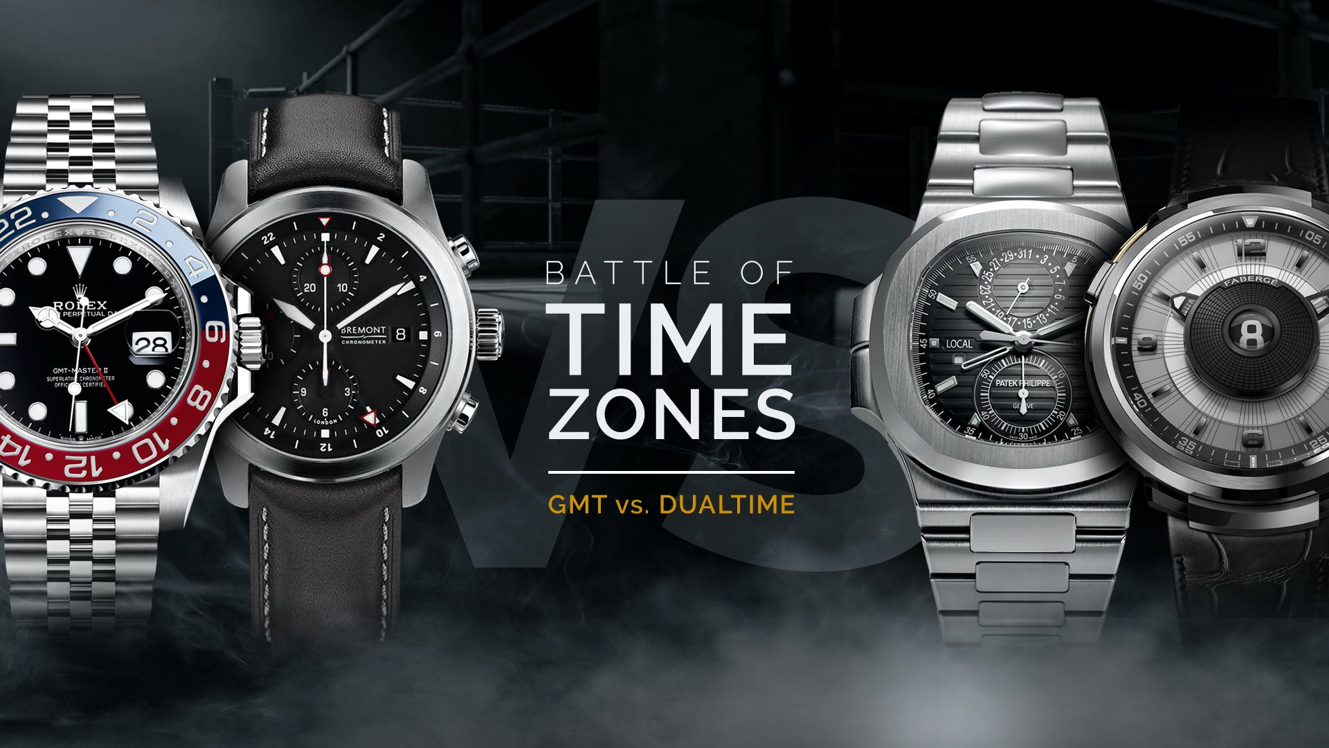 gmt dual time watches