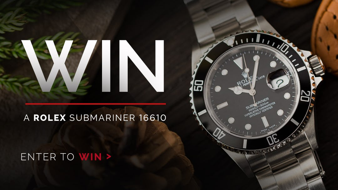 WIN A Rolex Submariner From WatchBox