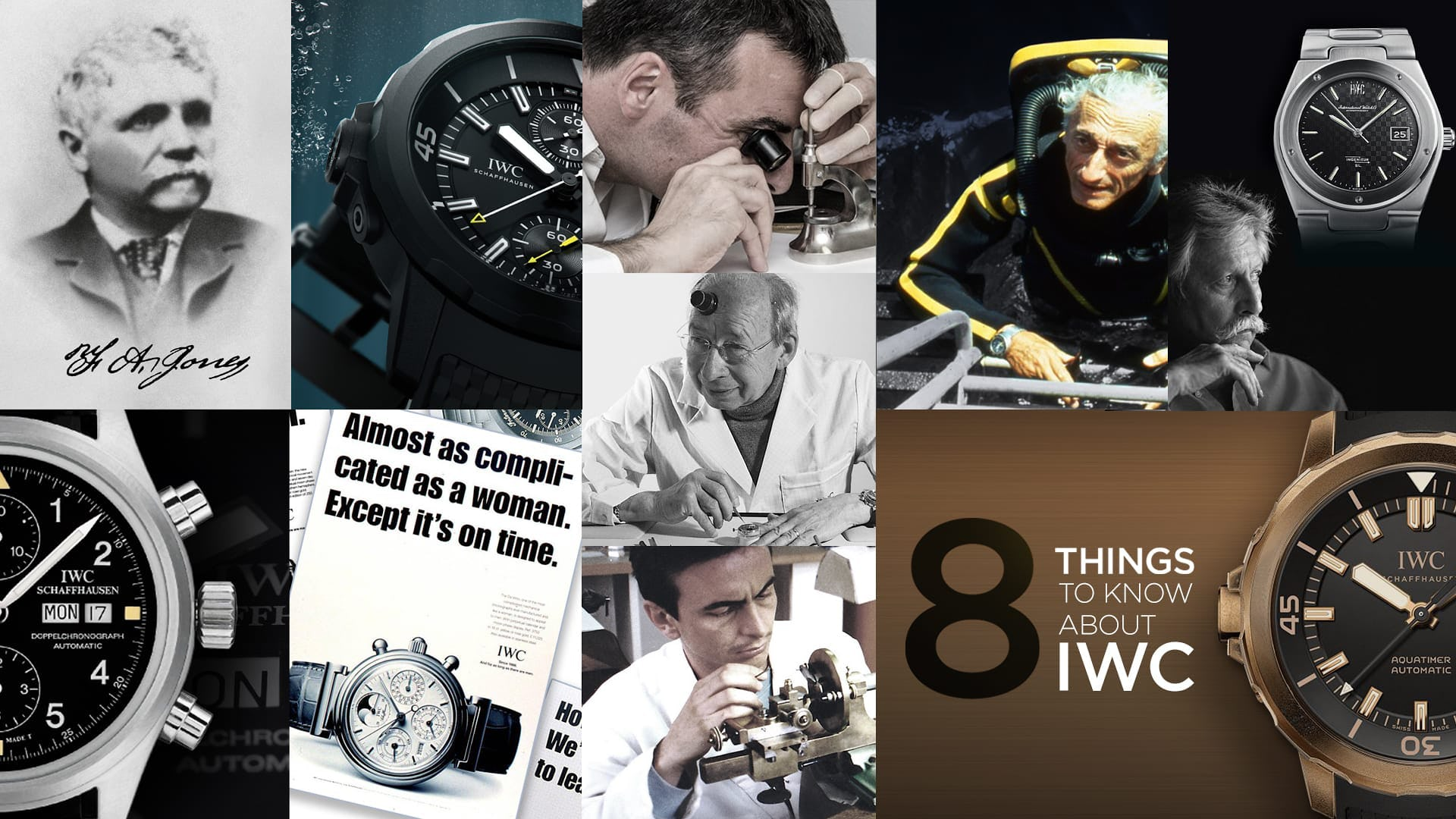 8 Things to Know About IWC