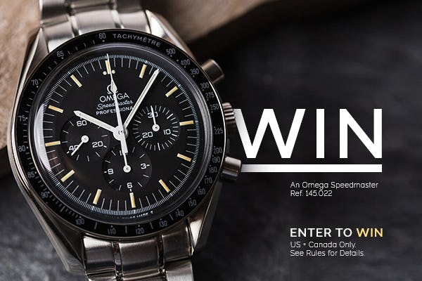 Win an Omega Speedmaster!