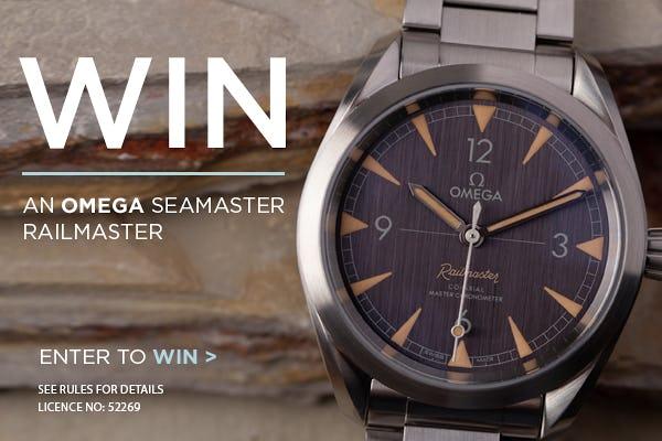 Win an Omega Seamaster Railmaster!