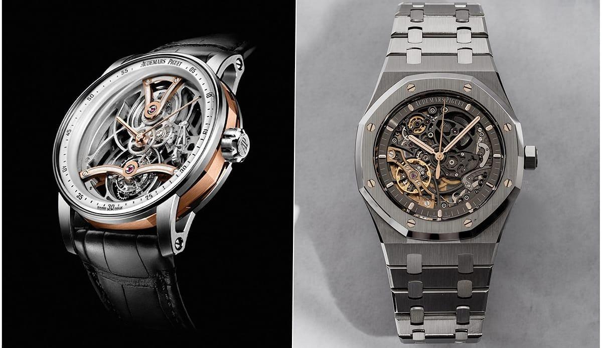 Two Openworked Audemars Piguet Watches