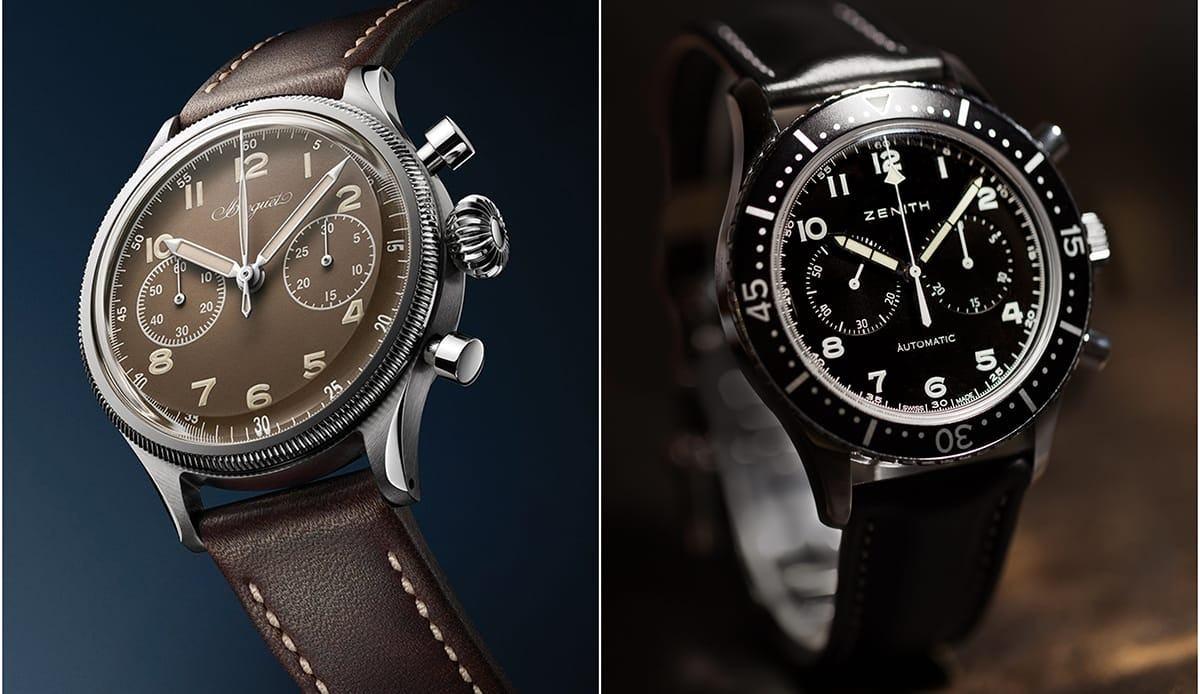 Breguet Type 20 vs Zenith Chronometro