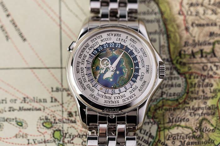 Platinum Patek Philippe 5131 World Time
