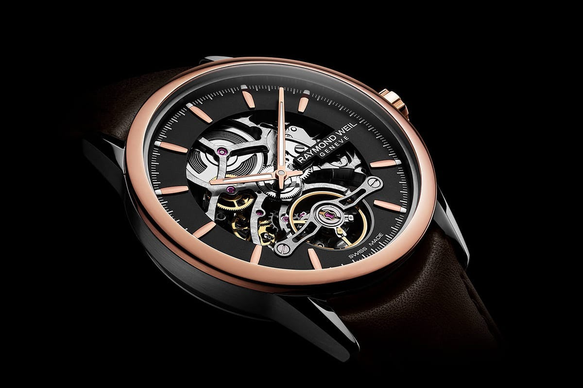 Raymond Weil Freelancer Skeleton Dial
