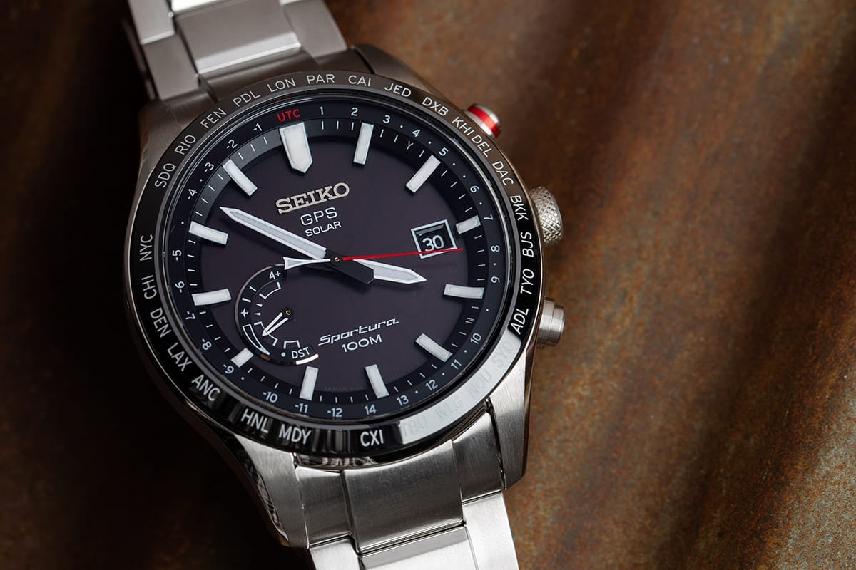 Seiko Astron Sports Watch with Chronogaph