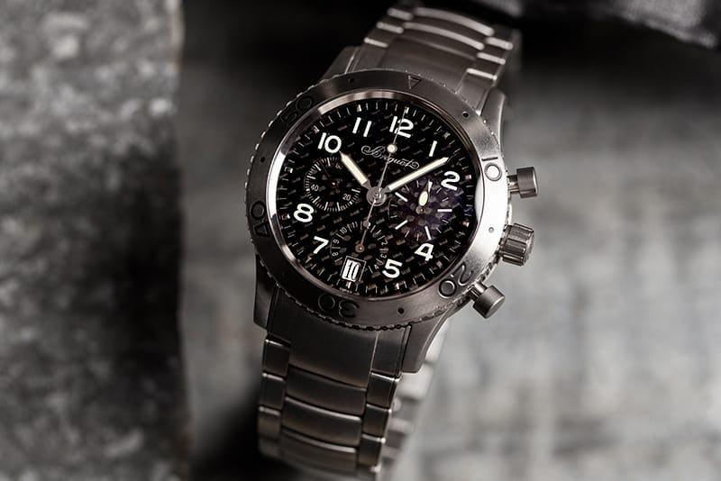 Titanium Breguet Watch