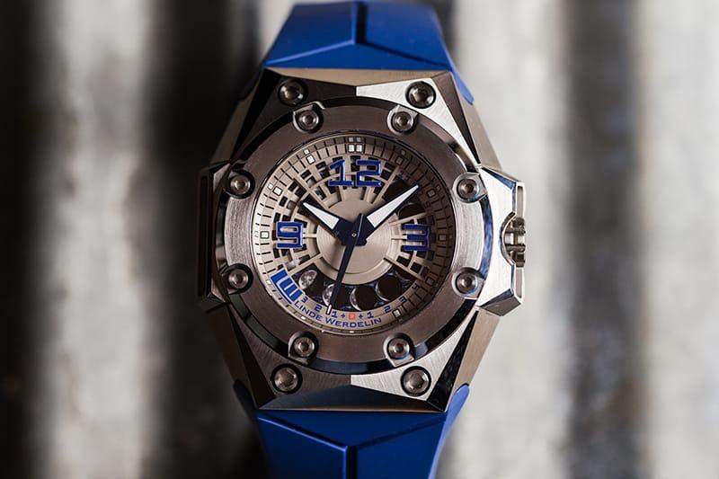 Titanium and Rubber Linde Werdelin Oktopus Watch