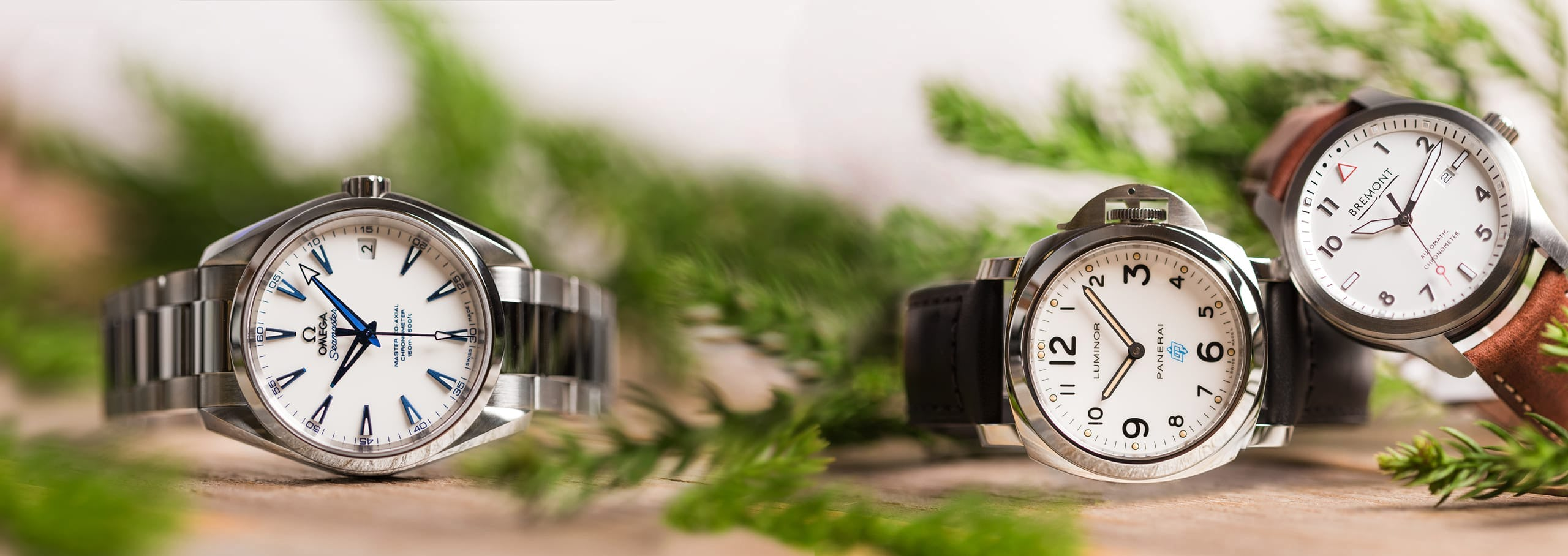 Gift Guide: White Dial Watches for Winter