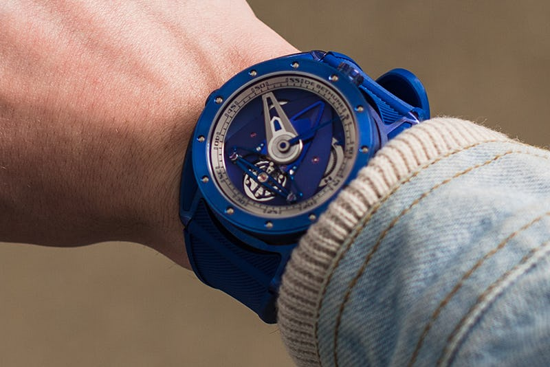 Blue De Bethune Watch