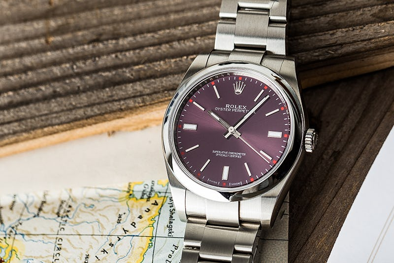 Red Grape Oyster Perpetual