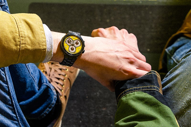 Yellow F.P. Journe Centigraphe