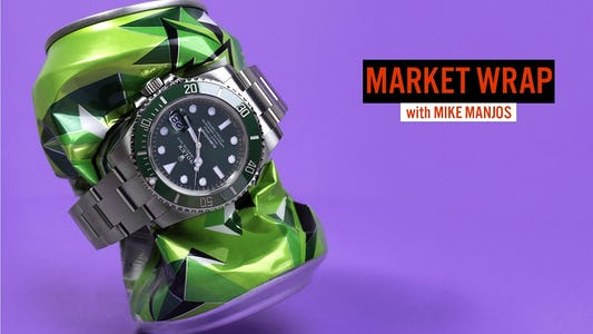 Watches We Liked This Week and Trade Show Reaction with Mike Manjos in the Market Wrap