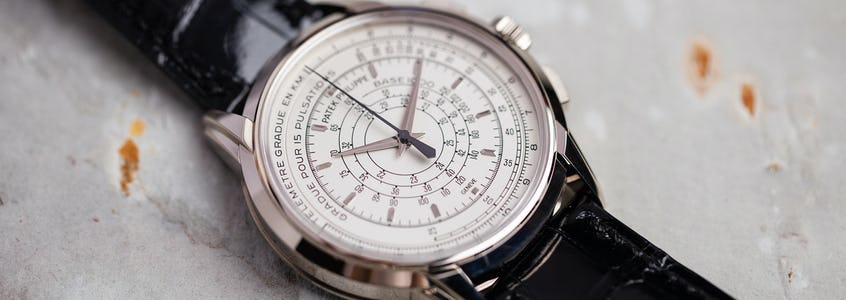 The Patek Philippe 5975 Stands Alone: A Multi-Scale Chronograph from the 175th Anniversary Collection