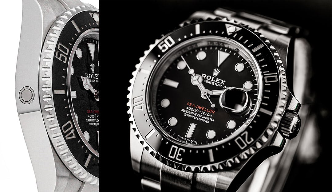 Integrated Helium Release on Rolex-Sea-Dweller