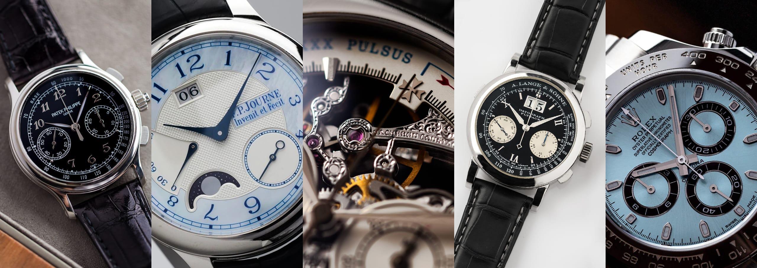 Stealth Wealth: The Wonderful World of Platinum Watches