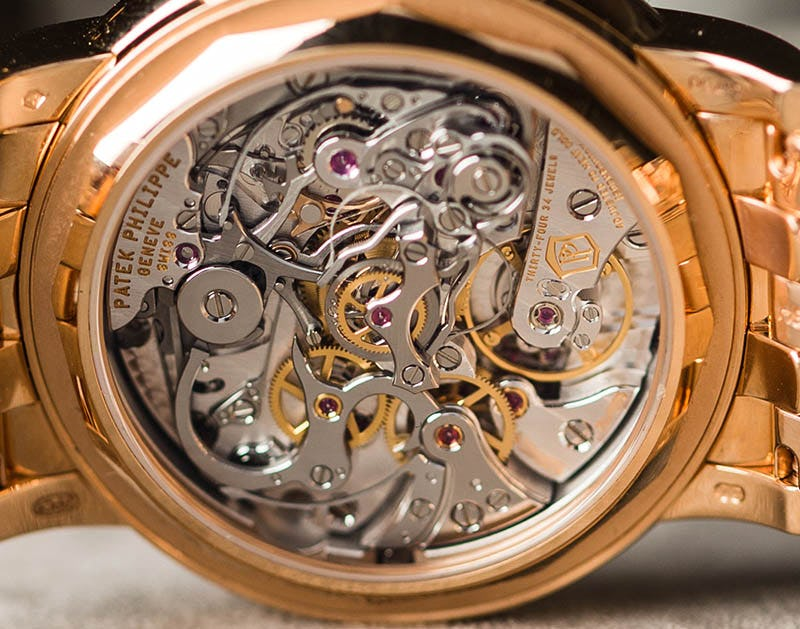 Patek Philippe Seal on Right Side of Movement