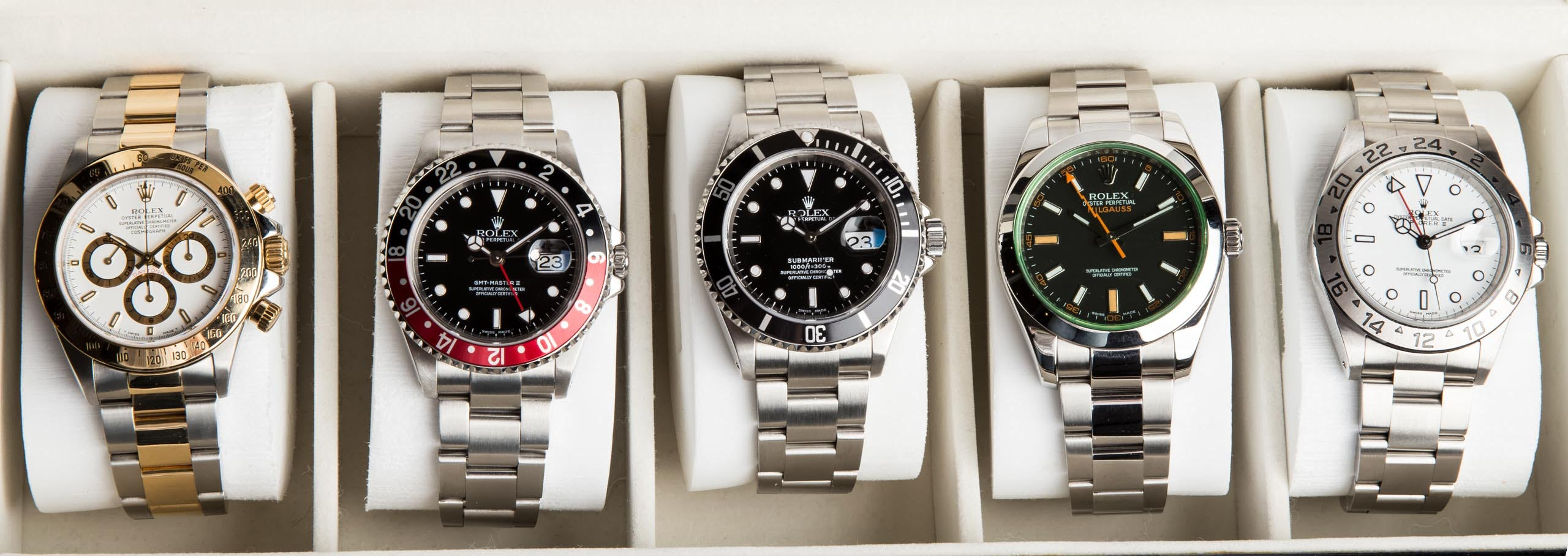 A Complete Guide to Rolex Stainless Steel Watches