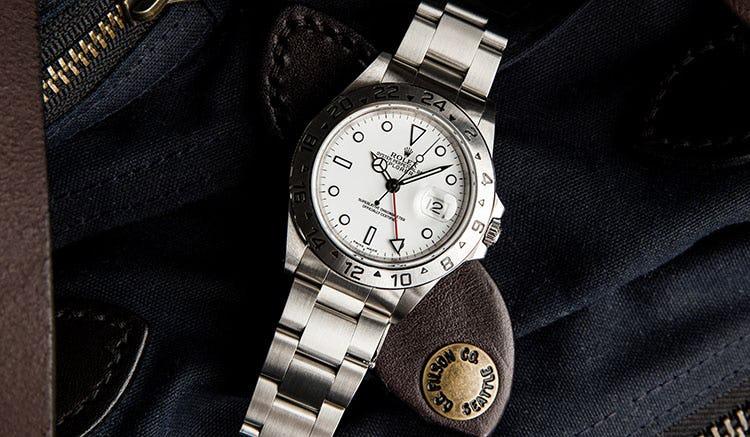 Stainless Steel Rolex Explorer II