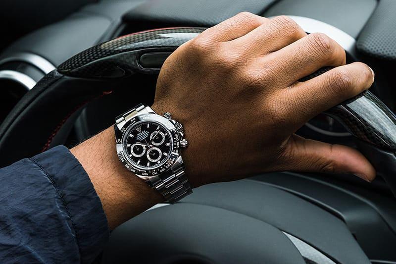 Stainless Steel and Ceramic Rolex Daytona 116500LN