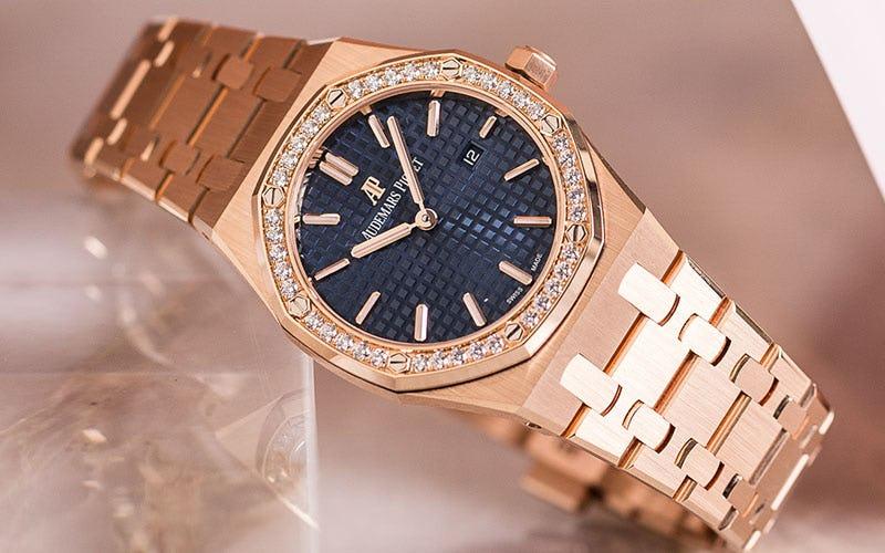 Audemars Piguet Quartz Rose Gold Ladies Watch