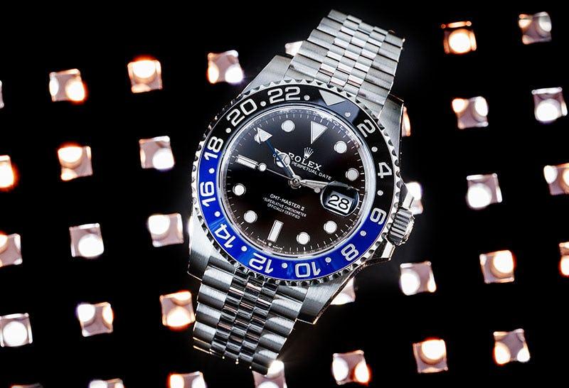 Rolex-Batman-GMT-126710BLNR Jubilee Bracelet