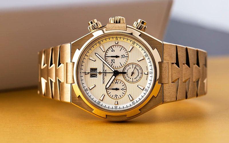 Overseas Chronograph Vacheron Constantin Yellow Gold
