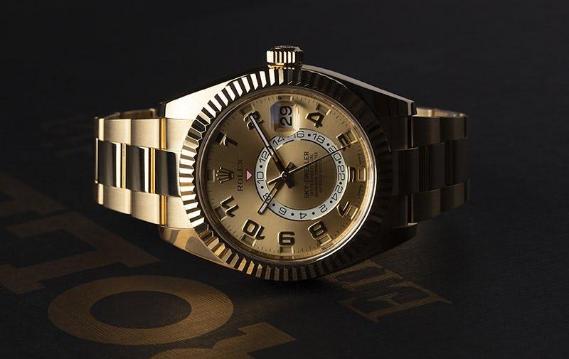 Rolex Yellow gold sky-dweller