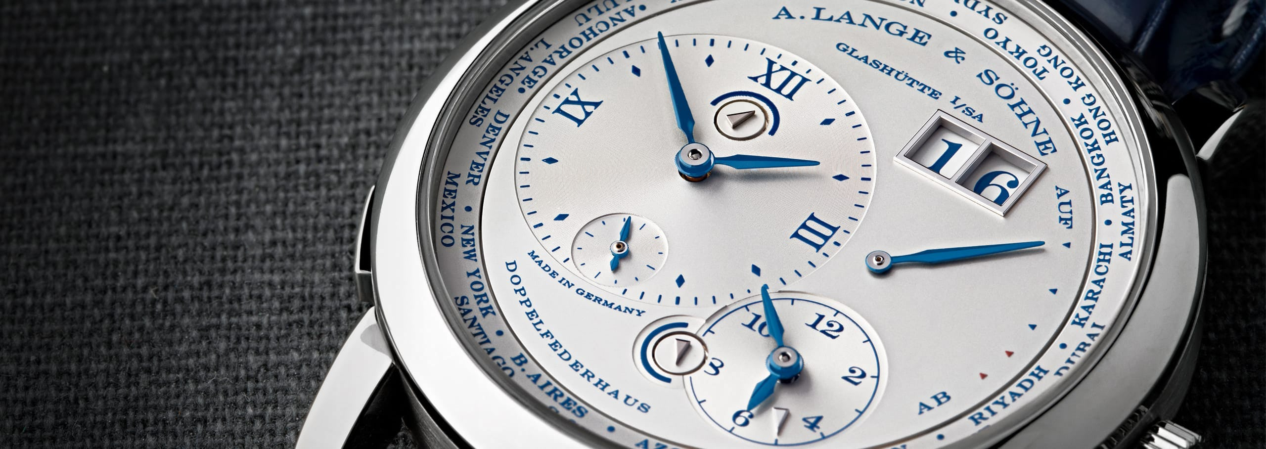 """An In-Depth Look at the Lange 1 Time Zone """"25th Anniversary"""""""