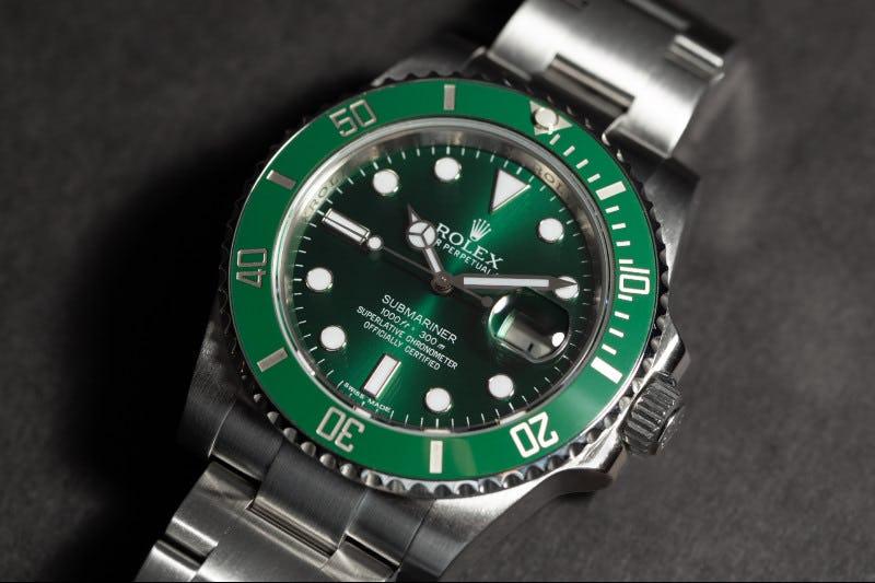 Rolex Hulk 116610LV