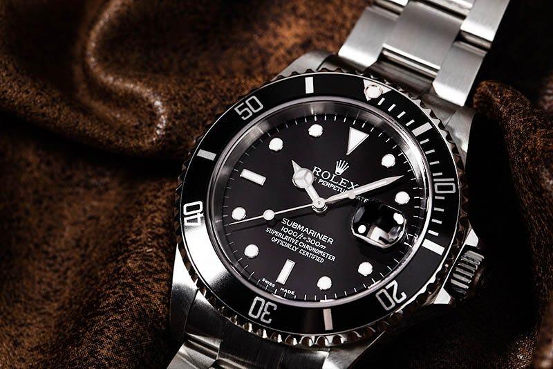 Black Dial Rolex Submariner