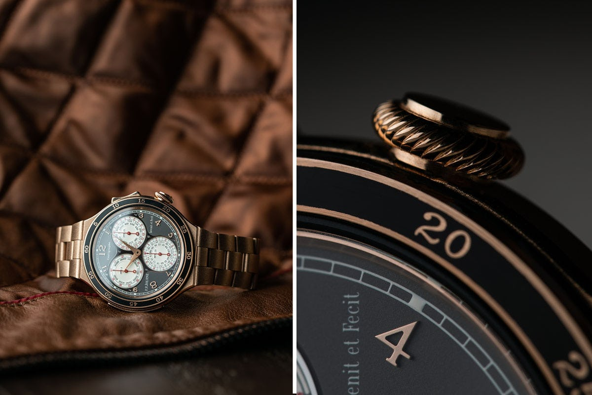 Crown detail of the F.P. Journe Linesport Centigraphe_2