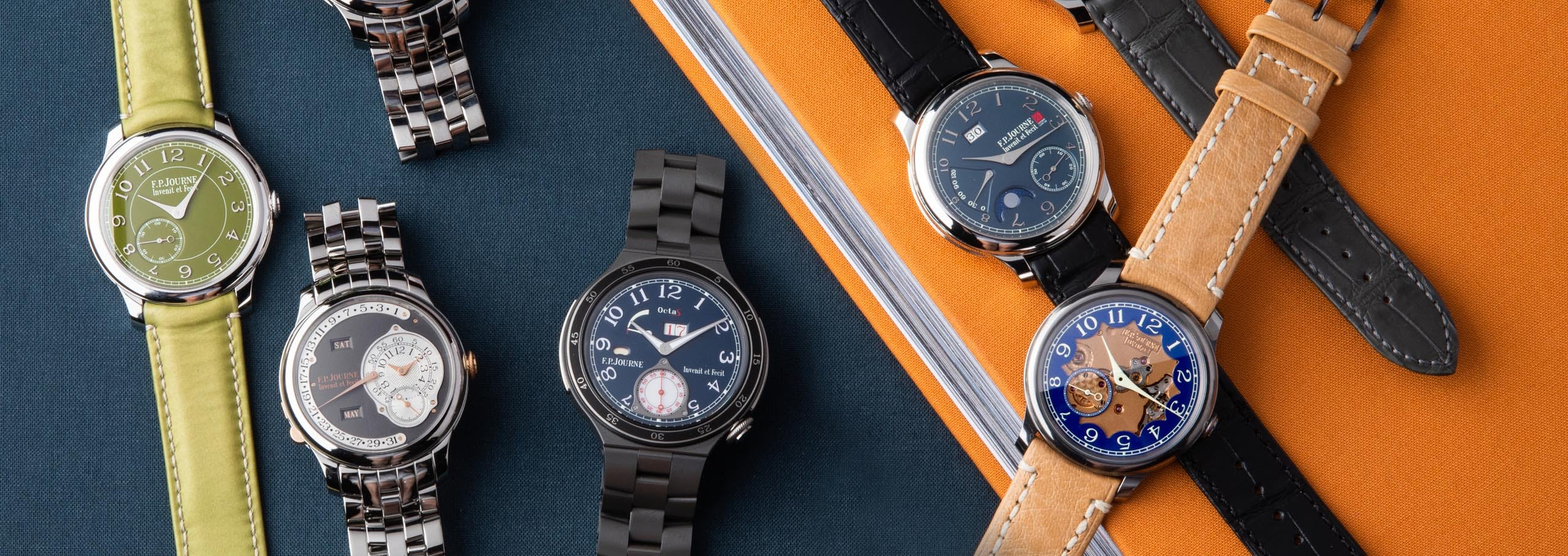 Beyond Bleu – The World of Bold and Obscure Journe Limited Editions
